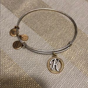 Alex and Ani K Bangle